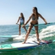 SUP Stand up Paddle Board Verleih Conil Andalusien Gruppe
