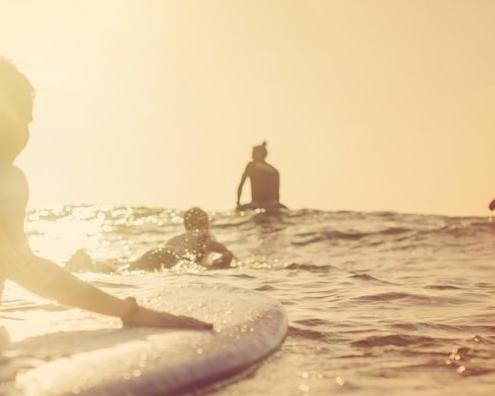 Surfen, Spanien, Andalusien, Conil El Palmar